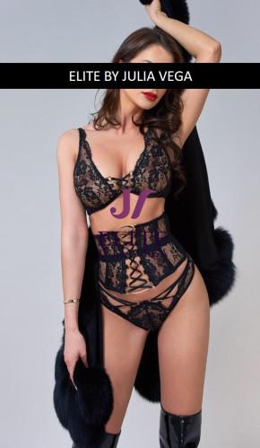 Serena Luxury Escort London Natural breast 5